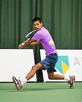 19-01-13, Tennis, Rotterdam, Wildcard for qualification ABNAMROWTT, Fabian v d Lans