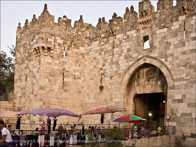 Damascus Gate, Old Jerusalem