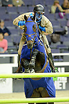 Charlie Jayne Participates in the $20,000 Gamblers Choice Costume Jump at The 53rd annual Washington International Horse Show at the Verizon Center in  Washington D.C. on 10/27/11 (Ryan Lasek / Eclipse Sportwire)