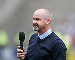 19.05.2019 Kilmarnock v Rangers: Steve Clarke at Full time