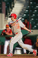 March 7 2010: Daniel Gonzalez of University of New Mexico during game against USC at Dedeaux Field in Los Angeles,CA.  Photo by Larry Goren/Four Seam Images