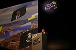 Christian Estrosi Mayor of Nice speaks at the Tour de France 2020 route presentation held in the Palais des Congrès de Paris (Porte Maillot), Paris, France. 15th October 2019.<br /> Picture: ASO/Thomas Colpaert | Cyclefile<br /> <br /> All photos usage must carry mandatory copyright credit (© Cyclefile | ASO/Thomas Colpaert)