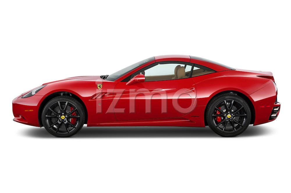 Driver's side view of a 2014 Ferrari California Convertible