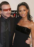 10-25-07 Bono & Alicia Keys, Photo By John Barrett/PHOTOlink