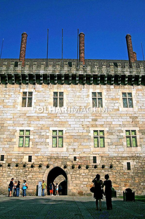 Paço dos Duques de Bragança em Guimarães, Minho. Portugal. 2005. Foto de Rogério Reis.