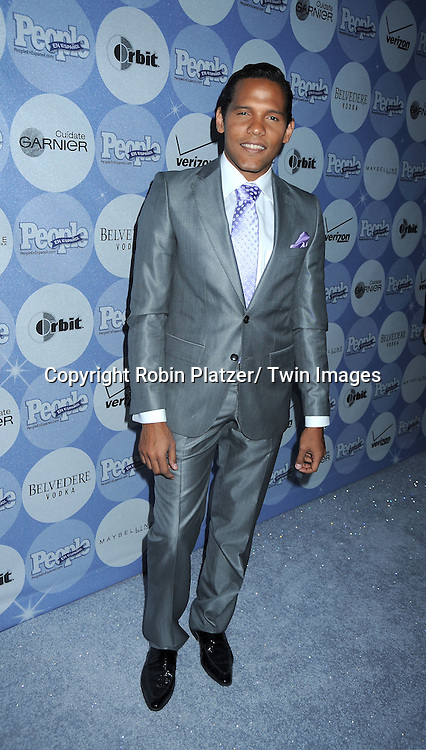 """Carlos Mejia  posing for photographers at the 14th Annual People En Espanol's """"50 Most Beautiful"""" issue on May 20, 2010 at .Guastavino's in New York City."""