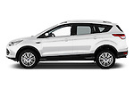 Driver side profile view of a 2013 Ford Kuga Trend SUV