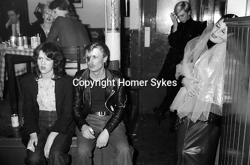 Blitz Club Covent Garden London 1980.<br /> <br /> Blonde guy in background, the late Lee Sheldrick. Thanks to Kim Bowen.