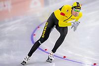 28th December 2020; Thialf Ice Stadium, Heerenveen, Netherlands; World Championship Speed Skating;  1500m men, Patrick Roest during the WKKT