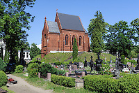 Friedhof in Kretinga, Litauen, Europa