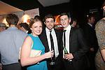 Wales Sport Awards 2013<br /> Beth Nesham, Leigh Halfpenny & James Gardener.<br /> 09.11.13<br /> ©Steve Pope-SPORTINGWALES