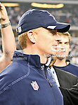Dallas Cowboys head coach Jason Garrett in action during the Thanksgiving Day game between the Miami Dolphins and the Dallas Cowboys at the Cowboys Stadium in Arlington, Texas. Dallas defeats Miami 20 to 19...
