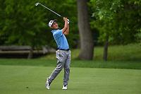 4th June 2021; Dublin, Ohio, USA; Tekumi Kanaya (JPN) hits his approach shot on 14 during the Memorial Tournament Rd2 at Muirfield Village Golf Club on June 4, 2021 in Dublin, Ohio.