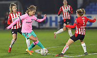 Lieke Martens (22 Barcelona) with the ball during a female soccer game between PSV Eindhoven Vrouwen and Barcelona, in the round of 32, 1st leg of Uefa Womens Champions League of the 2020 - 2021 season , Wednesday 9th of December 2020  in , Eindhoven, the Netherlands. PHOTO SPORTPIX.BE | SPP | SEVIL OKTEM