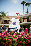 DEL MAR CA - JULY 30: Breeders Cup signage at the Clement L Hirsch Stakes  past the grandstand at Del Mar on July 30, 2016 in Del Mar, California. (Photo by Alex Evers/Eclipse Sportswire/Getty Images)