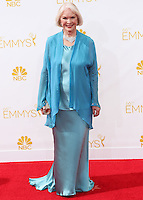 LOS ANGELES, CA, USA - AUGUST 25: Actress Ellen Burstyn arrives at the 66th Annual Primetime Emmy Awards held at Nokia Theatre L.A. Live on August 25, 2014 in Los Angeles, California, United States. (Photo by Celebrity Monitor)
