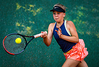Hilversum, Netherlands, Juli 29, 2019, Tulip Tennis center, National Junior Tennis Championships 12 and 14 years, NJK, Senna van den Heuvel (NED)<br /> Photo: Tennisimages/Henk Koster