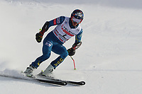 20th December 2020; Alta Badia, South-Tyrol, Italy; International Ski Federation World Cup Alpine Skiing, Giant Slalom;  Tommy Ford (USA)