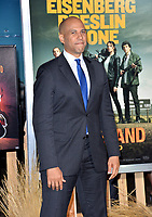 """LOS ANGELES, USA. October 11, 2019: Senator Cory Booker at the premiere of """"Zombieland: Double Tap"""" at the Regency Village Theatre.<br /> Picture: Paul Smith/Featureflash"""