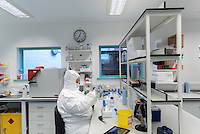 UK.  Oxford. 19th November 2015<br /> The DNA lab at Oxford (please check with Jim Gorman for specifics on this lab).<br /> Andrew Testa for the New York Times