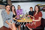Enjoying the evening in Sean Og's on Saturday, l to r: Sarah McNamee, Anna McCorristine, Eva Barrington, Rebecca Cahill and Chloe Gilligan.