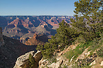 View from Bright Angel Trail near the South Rim, Grand Canyon National Park, Arizona .  John offers private photo tours in Grand Canyon National Park and throughout Arizona, Utah and Colorado. Year-round.
