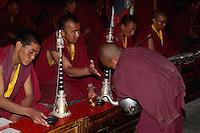im Kloster Phyang, Ladakh (Jammu+Kashmir), Indien