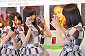 """Japanese Idol Group """"Nogizaka 46"""" attends the Announcement of HTC New Smartphone in Tokyo"""