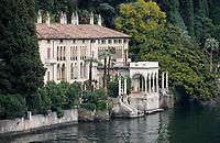 Europe/Italie/Lac de Come/Lombardie/Varenna : Villa sur le lac