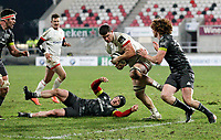 2nd January 2021   Ulster vs Munster <br /> <br /> Nick Timoney during the PRO14 Round 10 clash between Ulster Rugby and Munster Rugby at the Kingspan Stadium, Ravenhill Park, Belfast, Northern Ireland. Photo by John Dickson/Dicksondigital