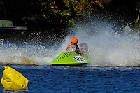 Frame 3: 24-J and 48-N  race into the turn, 48-N then catches the wake a spins out at speed. (runabout)