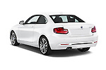 Car pictures of rear three quarter view of 2017 BMW 2-Series 230i 2 Door Coupe Angular Rear
