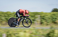Nairo Quintana (COL/Arkea Samsic)<br /> <br /> Stage 20 (ITT) from Libourne to Saint-Émilion (30.8km)<br /> 108th Tour de France 2021 (2.UWT)<br /> <br /> ©kramon