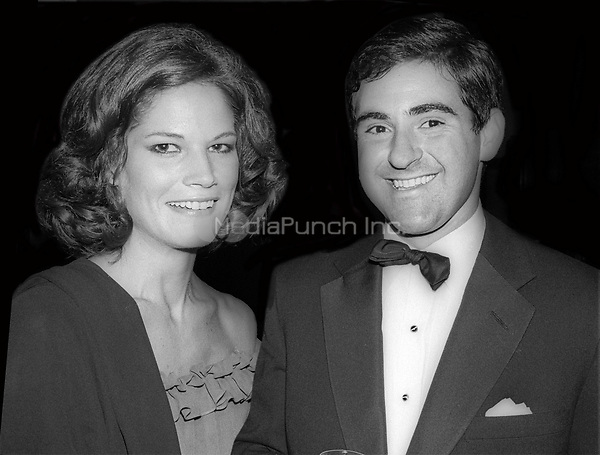 Barbara Allen and Peter Brandt 1978<br /> Photo By Adam Scull/PHOTOlink/MediaPunch