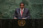General Assembly Seventy-fourth session, 7th plenary meeting<br /> <br /> <br /> His Excellency Charles Angelo Savarin, President, Commonwealth of Dominica