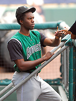 6 May 2007: Henry Sosa from a game between the Greenville Drive, Class A affiliate of the Boston Red Sox, and the Augusta GreenJackets at West End Field in Greenville, S.C. Photo by:  Tom Priddy/Four Seam Images