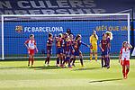 Liga IBERDROLA 2020-2021. Jornada: 10<br /> FC Barcelona vs Santa Teresa: 9-0.