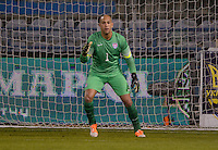 Larnaka, Cyprus - Wednesday, March 5, 2014: The USA Men's national team lost 2-0 to Ukraine during an international friendly at the Atonis Papadopoulos Stadium.