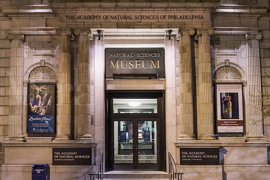 Natural Sciences Museum, Philadelphia, Pennsylvania, USA