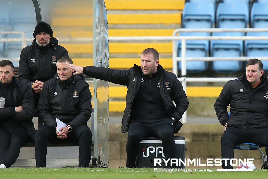 Waterford Manager Alan Reynolds during the pre-season friendly game between Waterford FC and Limerick FC on Sunday 27th January 2019 at the RSC, Waterford. Mandatory Credit: Michael P Ryan.