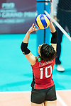 Setter Koyomi Tominaga of Japan controls the balL during the FIVB Volleyball World Grand Prix - Hong Kong 2017 match between Japan and Serbia on 22 July 2017, in Hong Kong, China. Photo by Yu Chun Christopher Wong / Power Sport Images