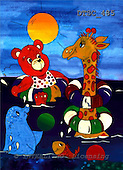 Hans, CUTE ANIMALS, paintings+++++,DTSC485,#AC# deutsch, illustrations, pinturas