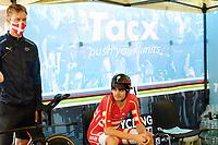 Picture by Simon Wilkinson/SWpix.com - 25/09/2020 - Cycling - UCI 2020 Road World Championships IMOLA - EMILIA-ROMAGNA ITALY - ITT Individual Time Trial Elite Men - Kasper Asgreen of Denmark. - TACX