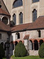Kreuzgang in Brixen, Region Südtirol-Bozen, Italien, Europa<br /> cloister in Brixen, Region South Tyrol-Bolzano, Italy, Europe