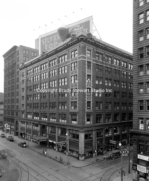 Pittsburgh PA:  The Jenkins Arcade was the first indoor shopping mall in the United States.  From 1966 to 1984, Brady Stewart offices were located in the Empire Building which was next to the Jenkins Arcade.  The Jenkins Arcade and Empire Building were torn down in 1984 to make room for the new Fifth Avenue Place.