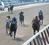 It's Tricky, in the blue colors, draws off from Awesome Maria, gray, and Cash For Clunkers in the Ogden Phipps.
