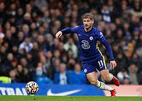 2nd October 2021; Stamford Bridge, Chelsea, London, England; Premier League football Chelsea versus Southampton; Timo Werner of Chelsea