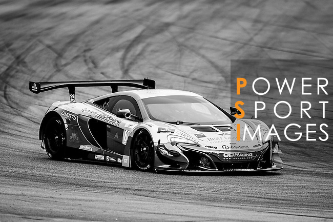 OD Racing Best Leader Team, #86 McLaren 650 GT3, driven by Fairuz Gauzy, Jono Leser and Chi Lun Tang in action during the Free Practice 1 of the 2016-2017 Asian Le Mans Series Round 1 at Zhuhai Circuit on 29 October 2016, Zhuhai, China.  Photo by Marcio Machado / Power Sport Images