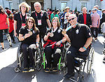 Ina Forrest, Marie Wright, and Dennis Thiessen, PyeongChang 2018. <br />
