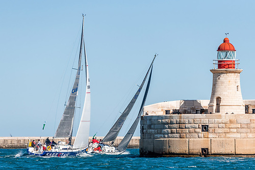 The 42nd edition of the Rolex Middle Sea Race will start on Saturday, 23 October 2021.